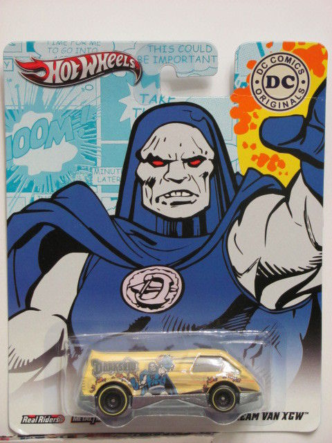 HOT WHEELS 2011 DC COMICS ORIGINALS DREAM VAN XGW