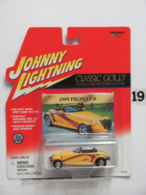 JOHNNY LIGHTNING CLASSIC GOLD COLLECTION 1999 PROWLER YELLOW