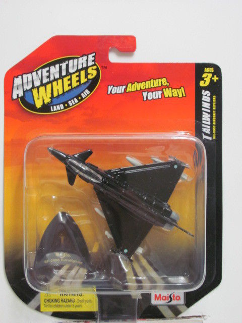 MAISTO TAIWINDS ADVENTURE WHEELS EF-2000 EUROFIGHTER