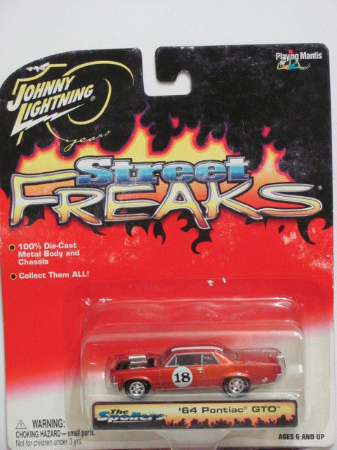 JOHNNY LIGHTNING STREET FREAKS '64 PONTIAC GTO - THE SPOILERS