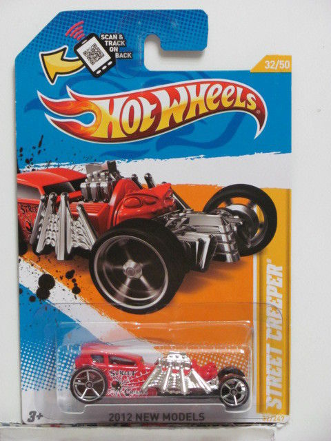 HOT WHEELS 2012 NEW MODELS STREET CREEPER #32/50