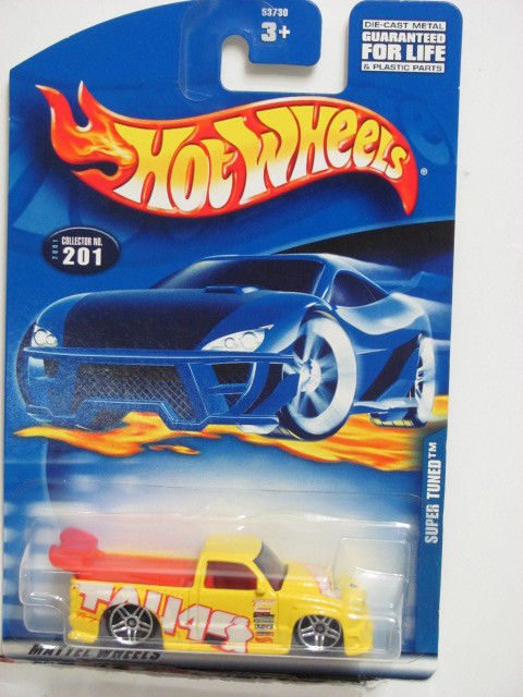 HOT WHEELS 2001 SUPER TUNED #201 YELLOW