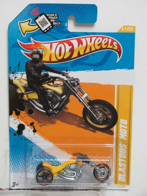 HOT WHEELS 2012 BLASTOUS MOTO NEW MODELS #41/50