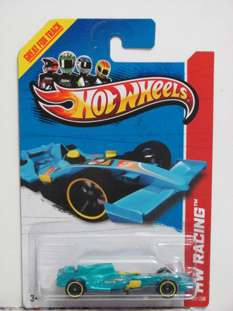 HOT WHEELS 2013 HW RACING F1 RACER - TRACK ACES E+