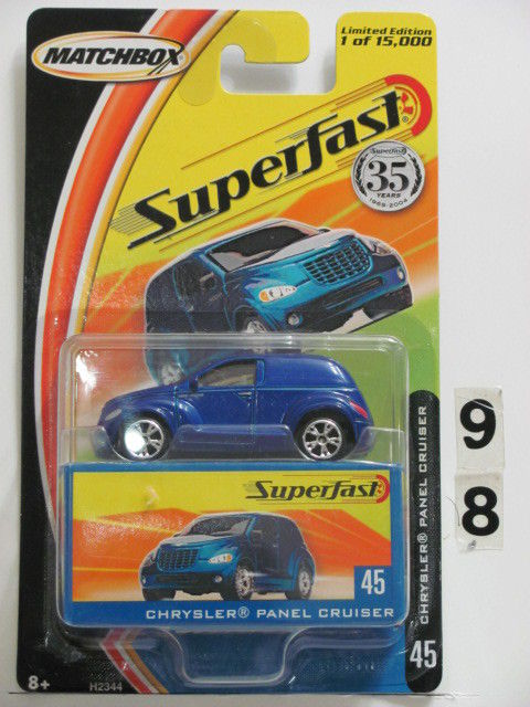 MATCHBOX 2004 35YRS SUPERFAST CHRYSLER PANEL CRUISER #45