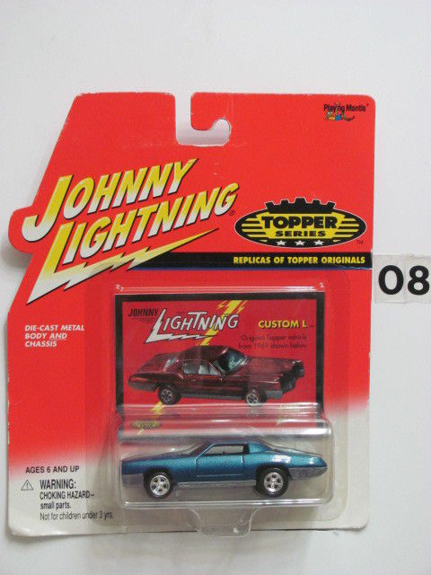 JOHNNY LIGHTNING TOPPER SERIES CUSTOM L BLUE