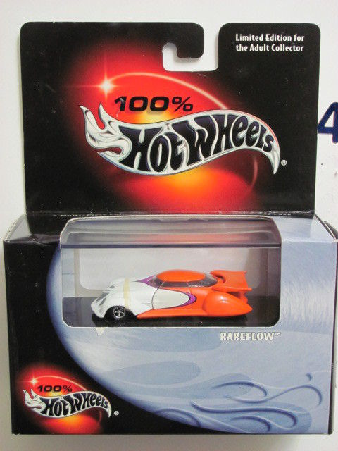 100% HOT WHEELS RAREFLOW