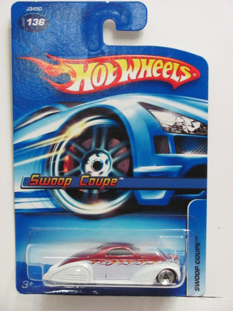 HOT WHEELS 2006 SWOOP COUPE #136