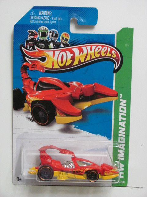 HOT WHEELS 2013 HW IMAGINATION - SCORPEDO - HW STREET PESTS