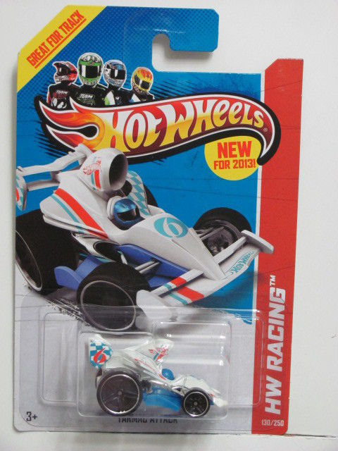HOT WHEELS 2013 HW RACING - TARMAC ATTACK - TRACK ACES