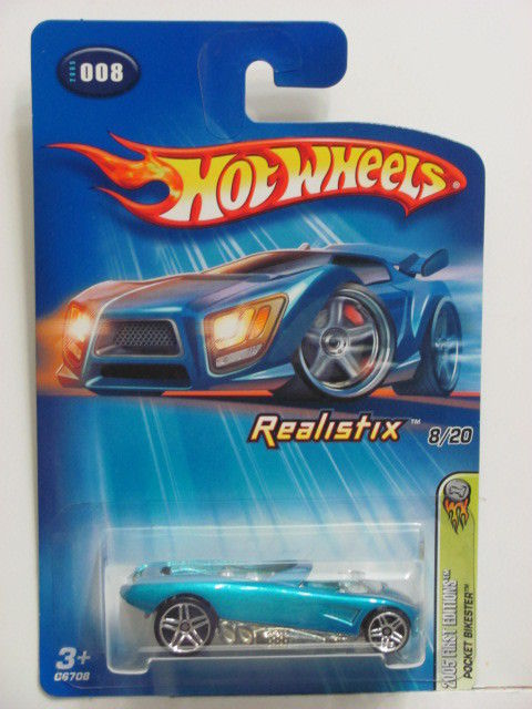 HOT WHEELS 2005 FIRST EDITIONS POCKET BIKESTER REALISTIX #008