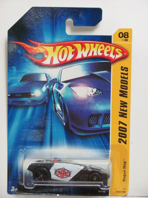 HOT WHEELS 2007 NEW MODELS ROGUE HOG #08/36