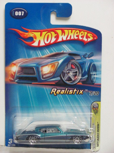 HOT WHEELS 2005 FIRST EDITIONS 1971 BUICK RIVIERA REALISTIX #007 E+