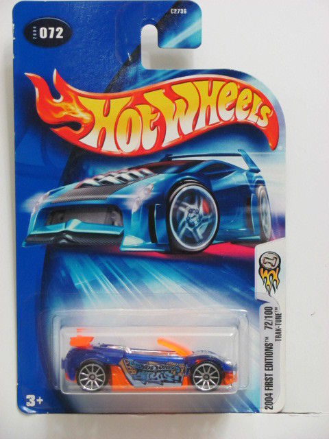 HOT WHEELS 2004 FIRST EDITIONS - TRAK-TUNE #072