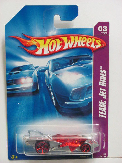 HOT WHEELS 2008 TEAM: JET RIDES FIRESTORM #03/04