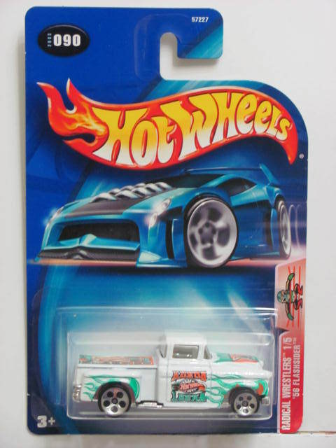 HOT WHEELS 2003 RADICAL WRESTLERS '56 FLASHSIDER #090