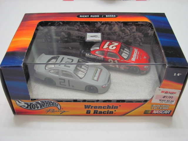 HOT WHEELS RACING 2002 #21 RICKY RUDD WRENCHEN RACING 1 of 10,000