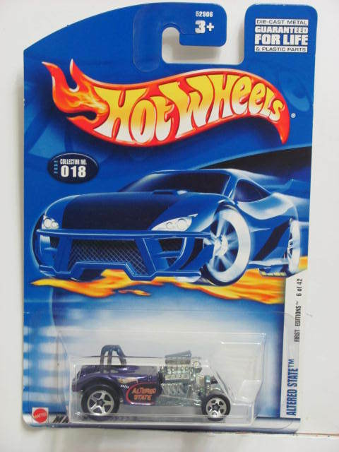 HOT WHEELS 2002 FIRST EDITIONS ALTERED STATE #018