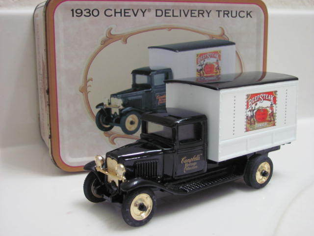 ERTL 1/43 1930 CHEVY DELIVERY TRUCK IN A TIN