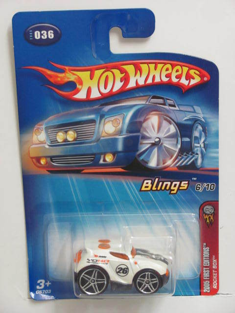HOT WHEELS 2005 FIRST EDITIONS ROCKET BOX #036
