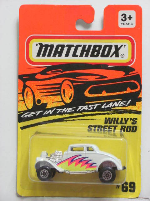 MATCHBOX 1994 WILLY'S STREET ROD #69