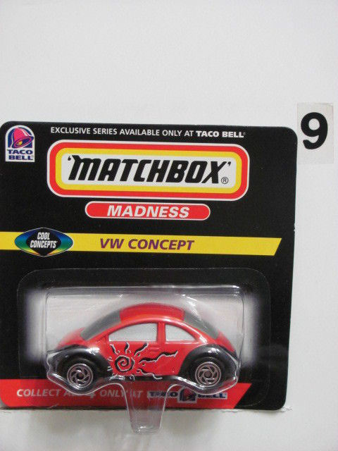 MATCHBOX CLASSIC MADNESS VW CONCEPT TACO BELL EXCLUSIVE