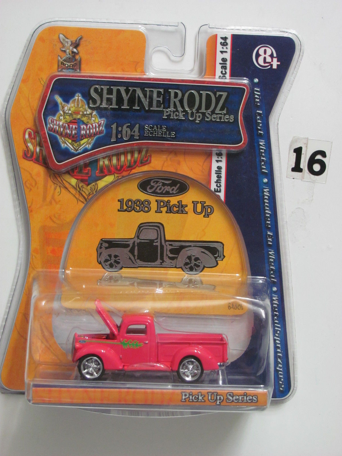 YAT MING DIE CAST METAL COLLECTION PICK UP SERIES SHYNE RODZ 1938 PICK UP