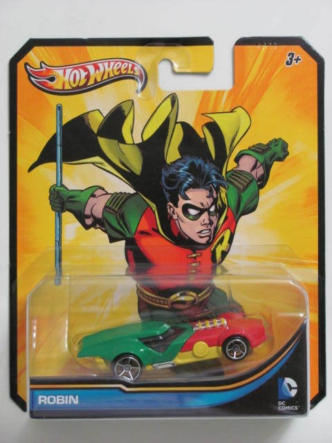 HOT WHEELS 2012 DC COMICS ROBIN
