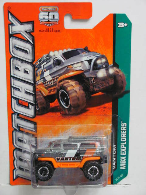 MATCHBOX 2013 MBX EXPLORERS VANTOM