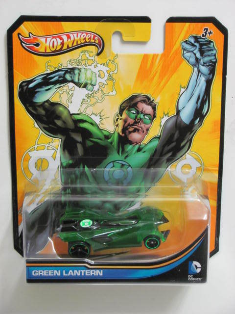 HOT WHEELS 2013 DC COMICS GREEN LANTERN