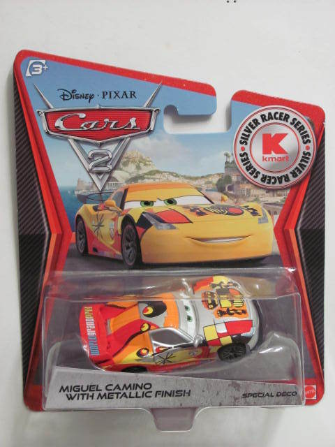 DISNEY PIXAR CARS 2 - KMART EXCLUSIVE MIGUEL CAMINO WITH METALLIC FINISH