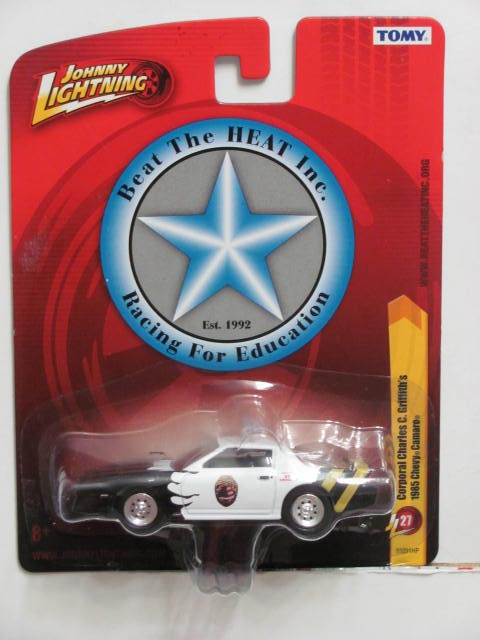 JOHNNY LIGHTNING CORPORAL CHARLES C. GRIFFITH'S 1985 CHEVY CAMARO JL27 TOMY