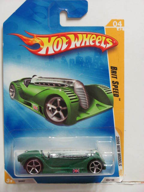 HOT WHEELS 2009 HW PREMIERE BRIT SPEED #04/42