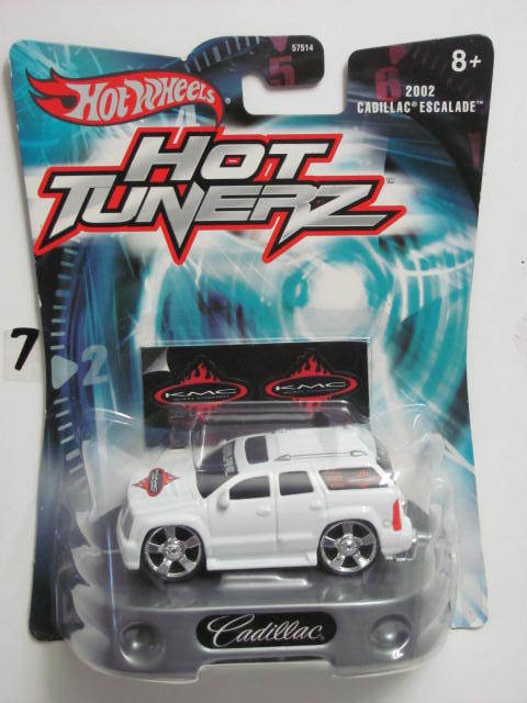HOT WHEELS HOT TUNERZ 2002 CADILLAC ESCALADE