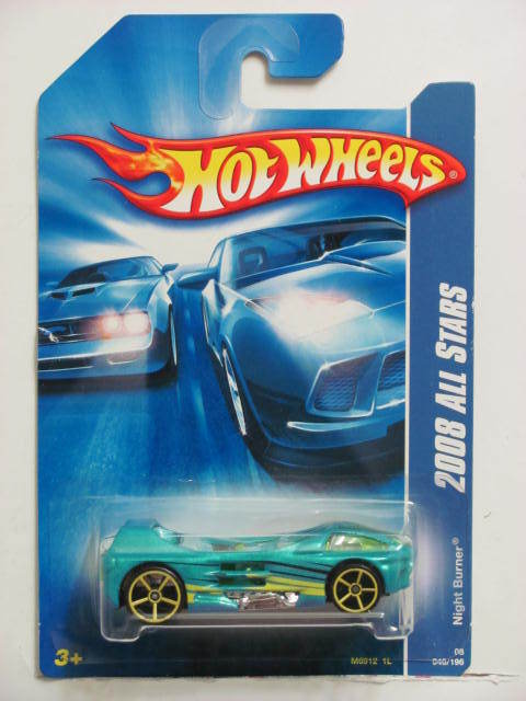 HOT WHEELS 2008 ALL STARS NIGHT BURNER