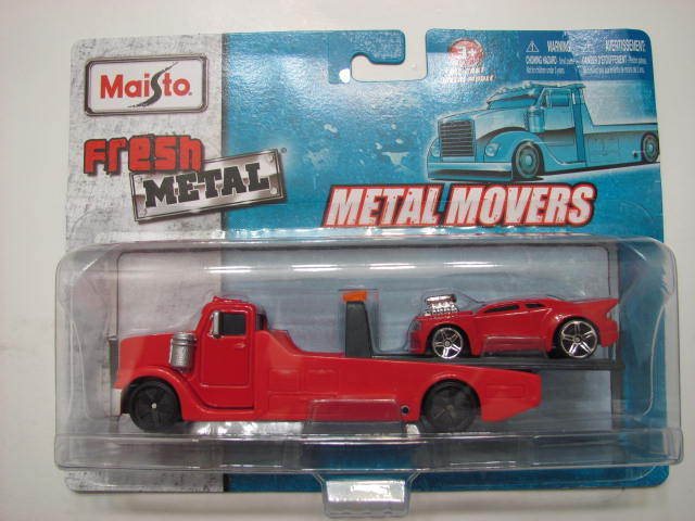MAISTO TAILWINDS FRESH METAL METAL MOVERS RED