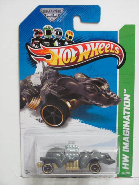 HOT WHEELS 2013 HW IMAGINATION - HW STREET PEST RATMOBILE