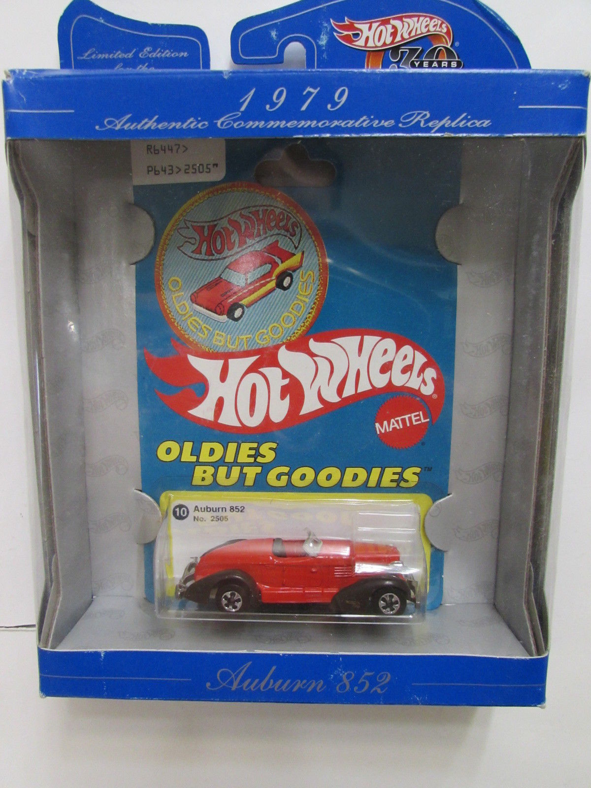 hot wheels oldies but goodies auburn 852 #10 [0006229] - $4.19