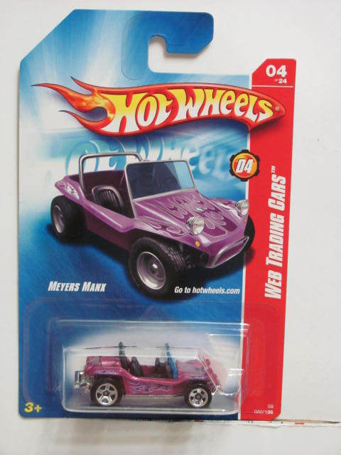 HOT WHEELS 2008 WEB TRADING CARS MEYERS MANX #04/24