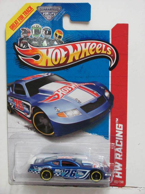 HOT WHEELS 2013 HW RACING - TRACK ACES CIRCLE TRACKER TAMPO ERROR