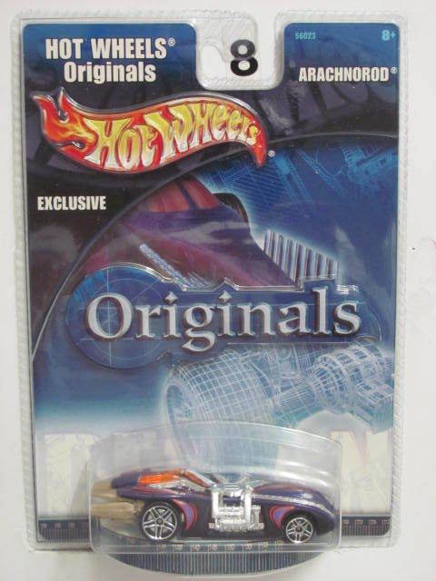 HOT WHEELS ORIGINALS EXCLUSIVE - ARACHNOROD