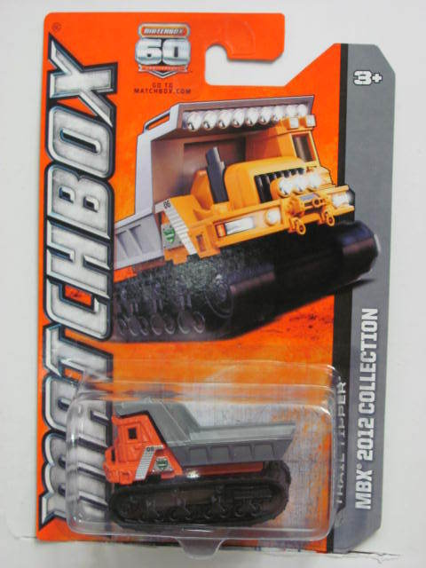MATCHBOX 2012 MBX 2012 COLLECTION 60TH ANN TRAIL TIPPER