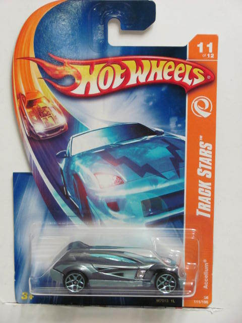 HOT WHEELS 2008 TRACK STARS ACCELIUM #11/12