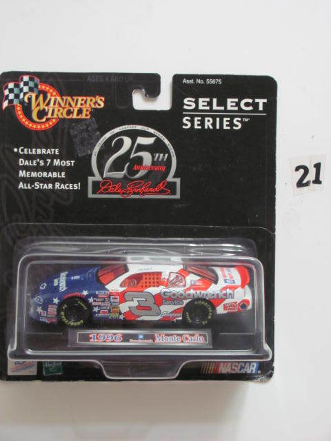 WINNER'S CIRCLE SELECT SERIES 25TH ANN DALE EARNHARDT 1996 MONTE CARLO