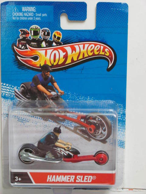 HOT WHEELS 2012 HAMMER SLED 1:64 SCALE