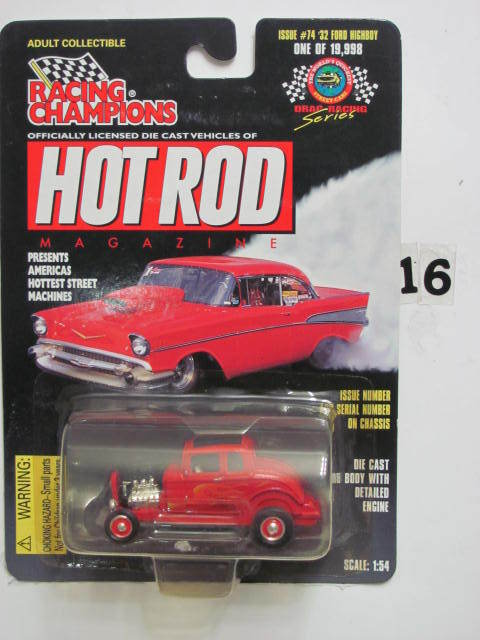 RACING CHAMPIONS '32 FORD HIGHBOY ISSUE #74 SCALE 1:54