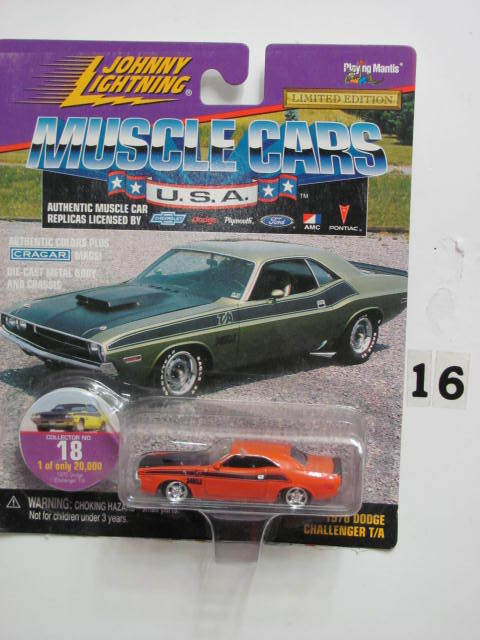 JOHNNY LIGHTNING MUSCLE CARS #18 1970 DODGE CHALLENGER T/A