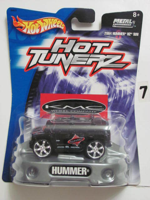 HOT WHEELS HOT TUNERZ 2004 HUMMER H2 SUV BLACK