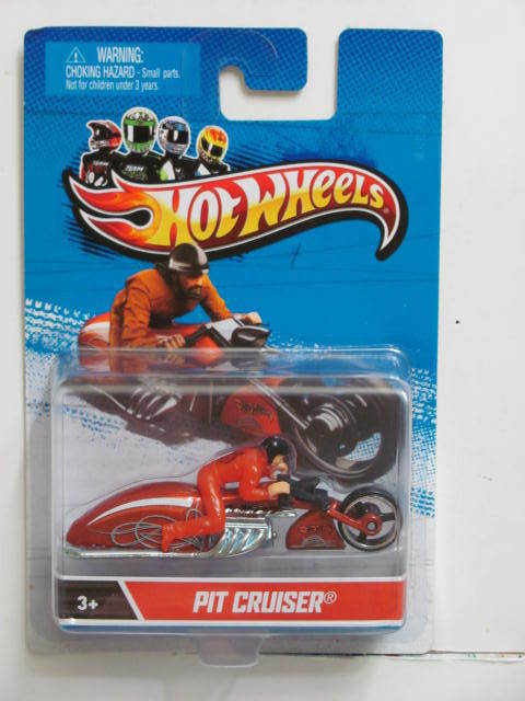 HOT WHEELS 2012 PIT CRUISER 1:64 SCALE