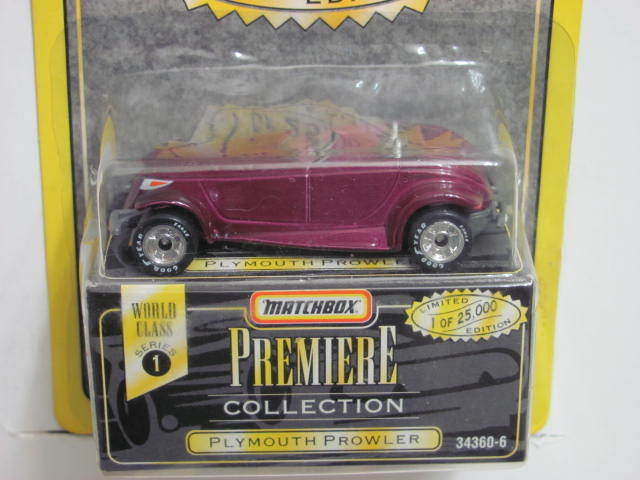 MATCHBOX PREMIERE COLLECTION SERIES 1 PLYMOUTH PROWLER
